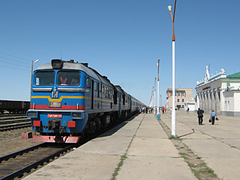 A Trans-Siberian Railway Locomotive